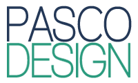 Pasco Design Vertical Logo