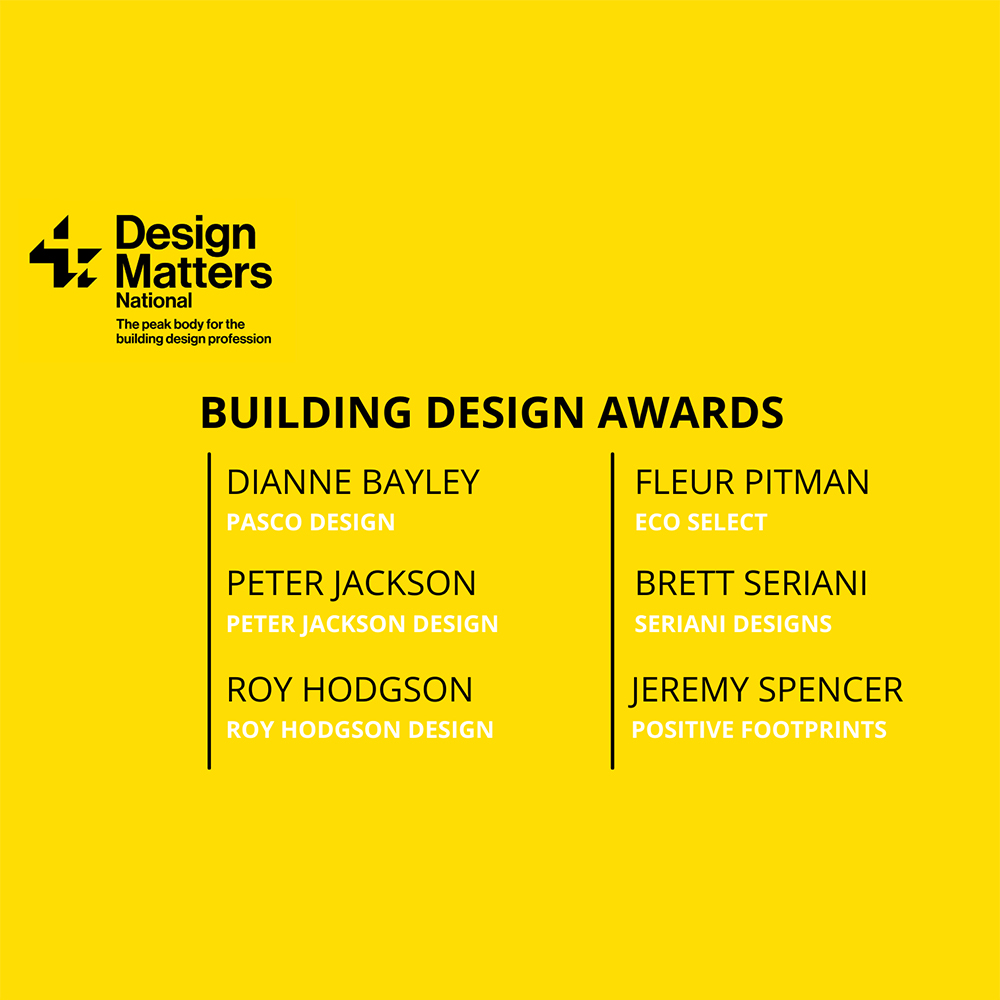 Pasco Design at the 25th annual building design awards